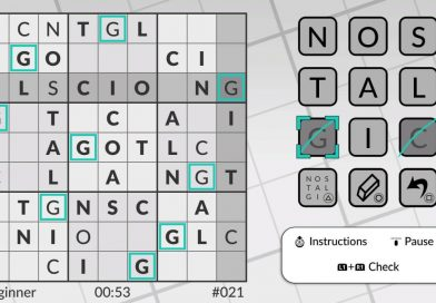 Word Sudoku by POWGI Coming To PS Vita & PS4 Next Week