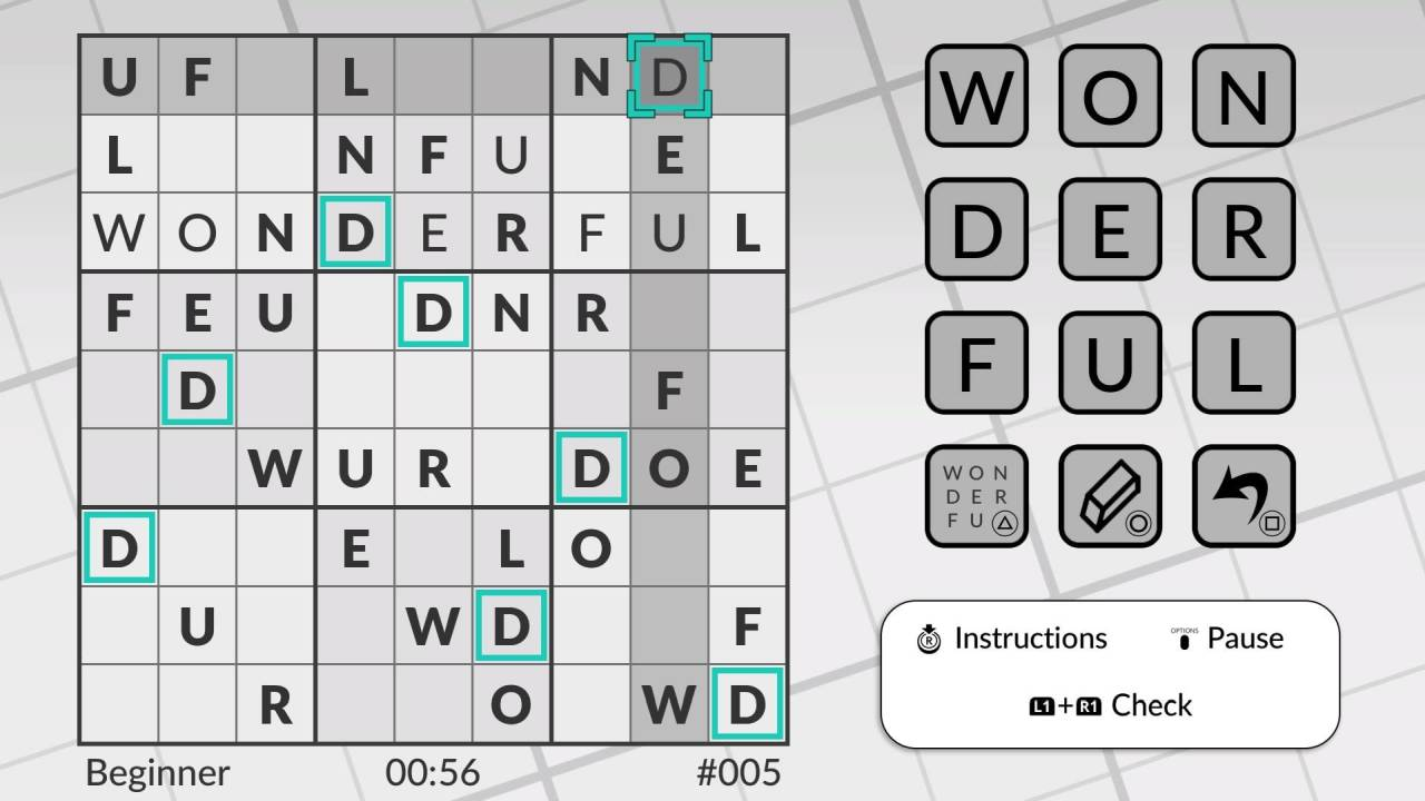 Word Sudoku by POWGI PS Vita PS4