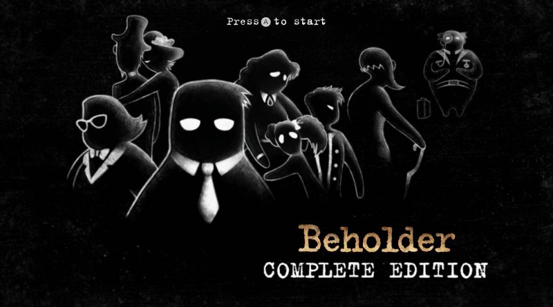 Beholder: Complete Edition Nintendo Switch