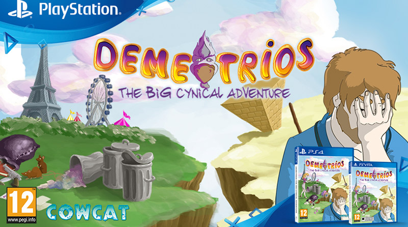Demetrios The BIG Cynical Adventure PS Vita PS4