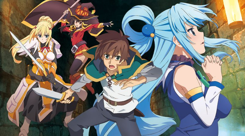 KonoSuba: God's Blessing on this Wonderful World! PS Vita PS4