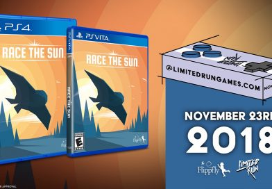Race the Sun Physical PS Vita & PS4 Release Available On November 23