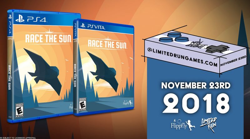 Race the Sun PS Vita PS4