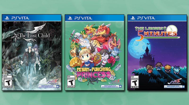 The Lost Child, Penny-Punching Princess The Longest Five Minutes PS Vita