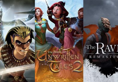 Sphinx and The Cursed Mummy, The Book of Unwritten Tales 2 & The Raven Remastered Coming To Switch In Early 2019