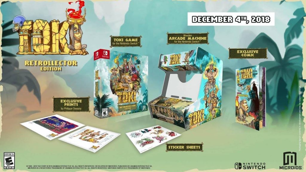 Retrocollector edition Toki Nintendo Switch
