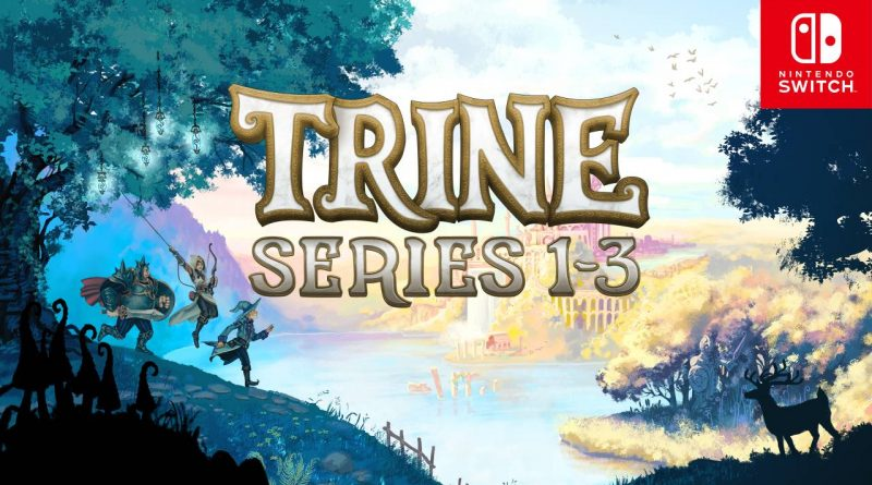 Trine Series 1-3 Nintendo Switch
