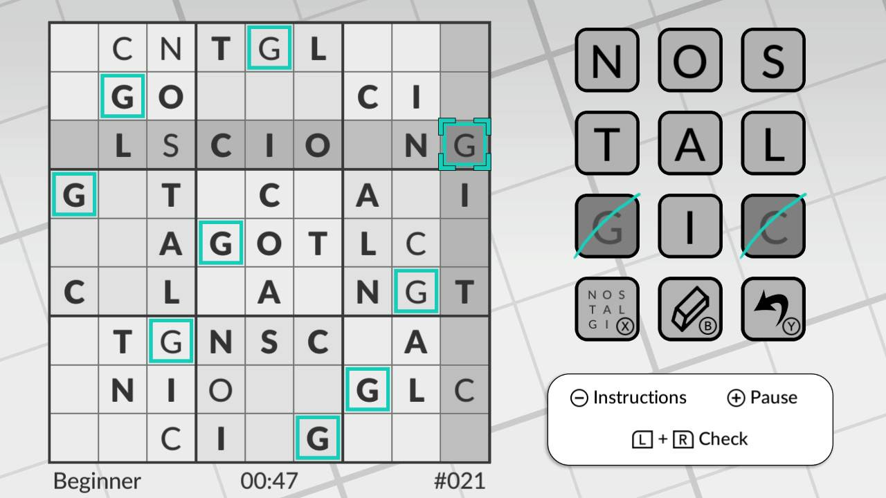 Word Sudoku by POWGI Nintendo Switch