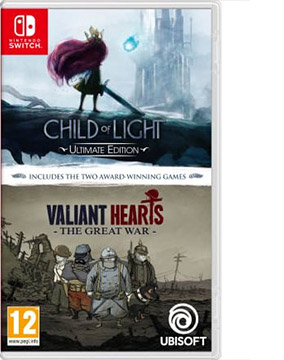 Child of Light / Valiant Heart Double Pack (English & Chinese Subs)