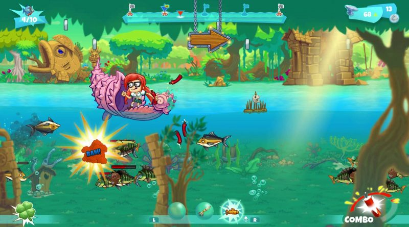 Dynamite Fishing: World Games Nintendo Switch