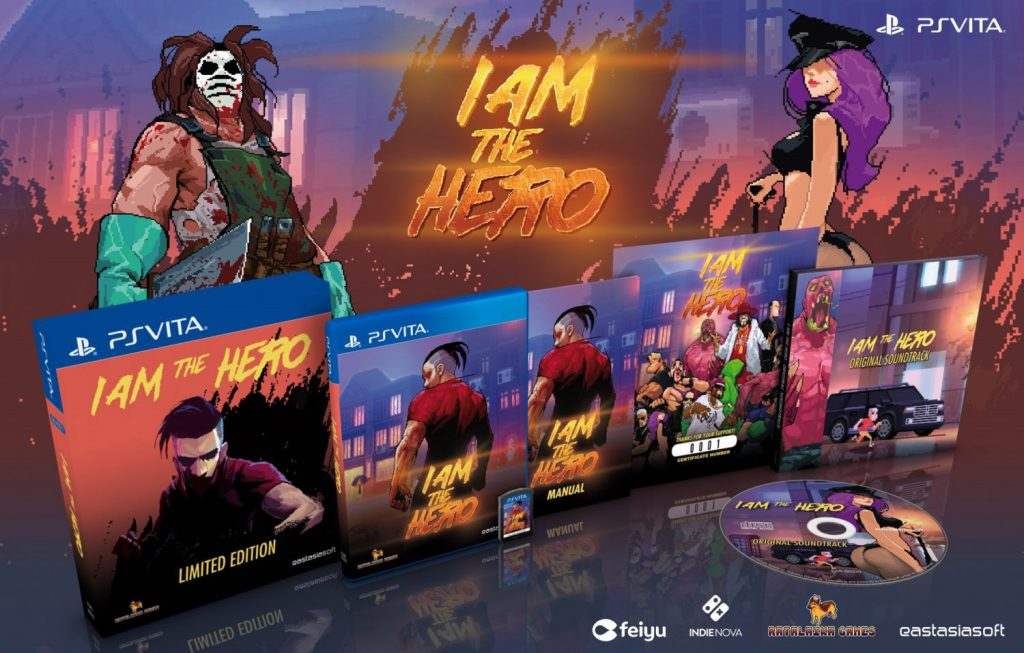 I Am The Hero Limited Edition PS Vita