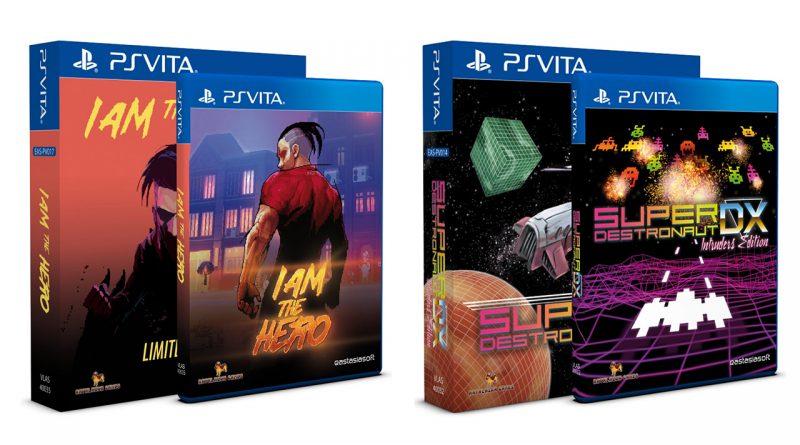 I Am The Hero Super Destronaut DX Limited Edition PS Vita
