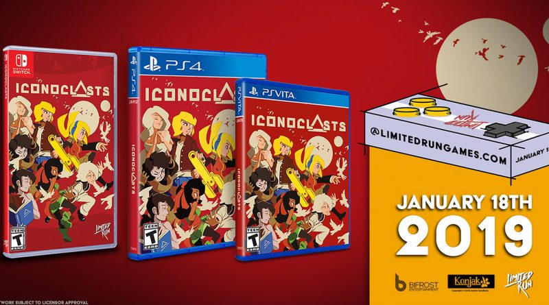Iconoclasts PS Vita PS4 Switch