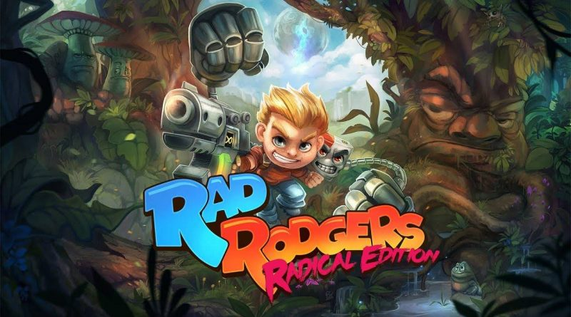 Rad Rodgers: Radical Edition Nintendo Switch