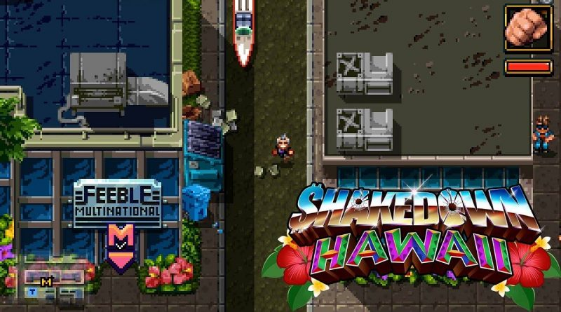 Shakedown Hawaii PS Vita Nintendo Switch 3DS PS4