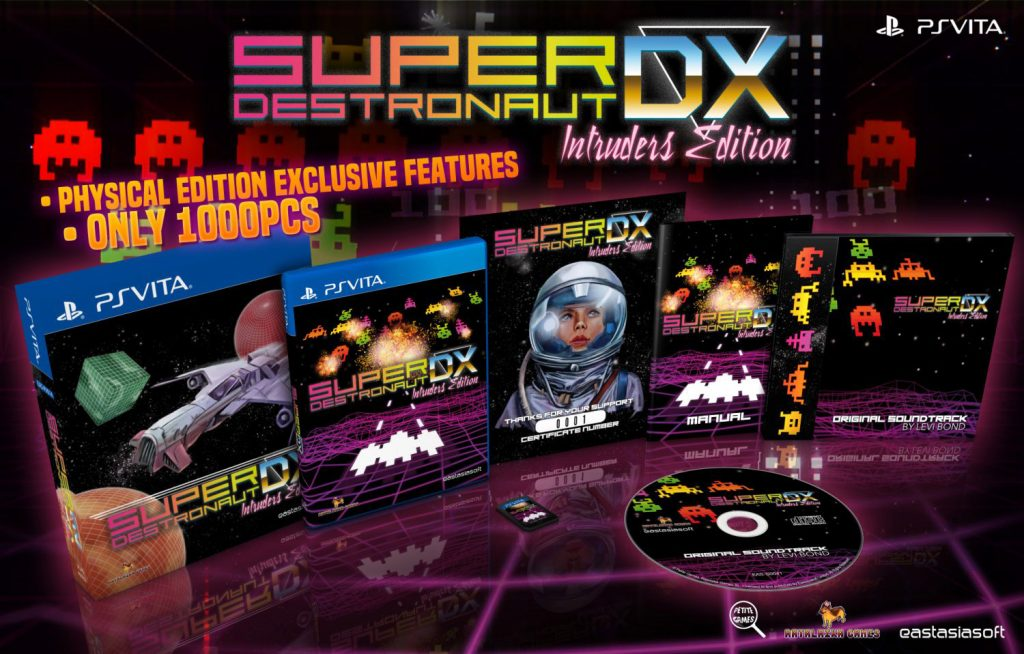 Super Destronaut DX Limited Edition PS Vita