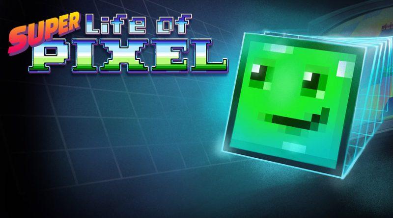 Super Life of Pixel PS Vita PS4