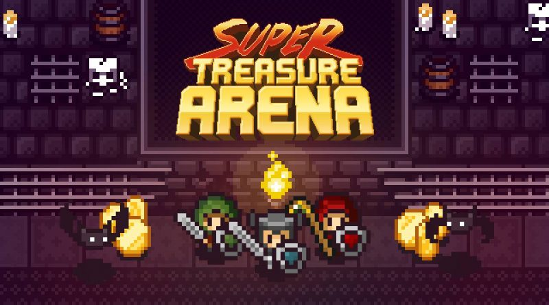 Super Treasure Arena Nintendo Switch