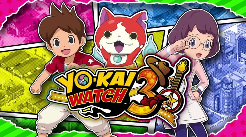 Yo-kai Watch 3 Nintendo 3DS