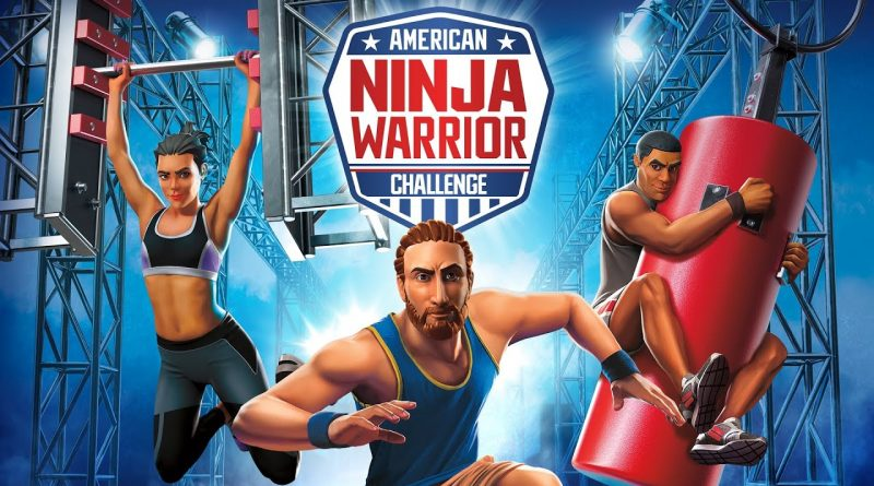 American Ninja Warrior Challenge Nintendo Switch