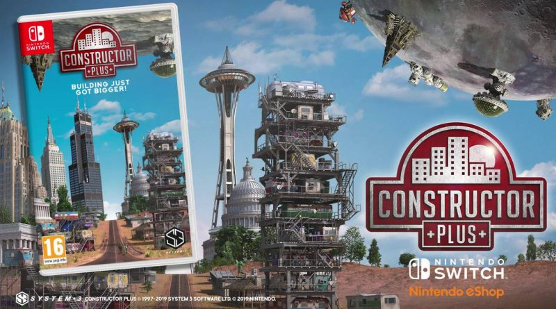 Constructor Plus Nintendo Switch