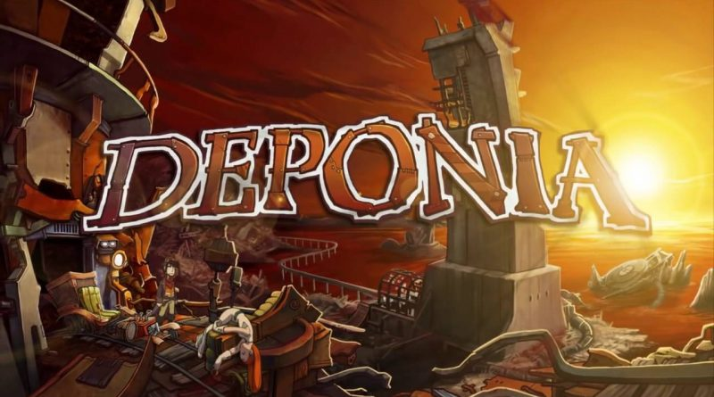 Deponia Nintendo Switch