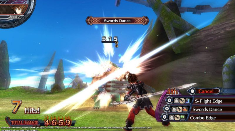 Fairy Fencer F: Advent Dark Force Nintendo Switch