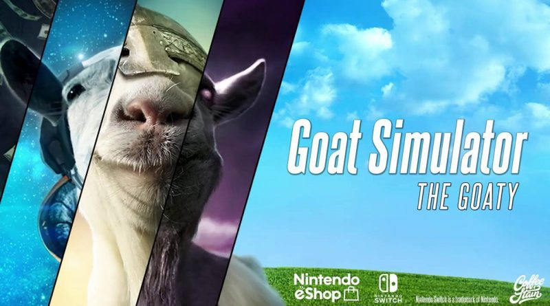 Goat Simulator: The GOATY Nintendo Switch