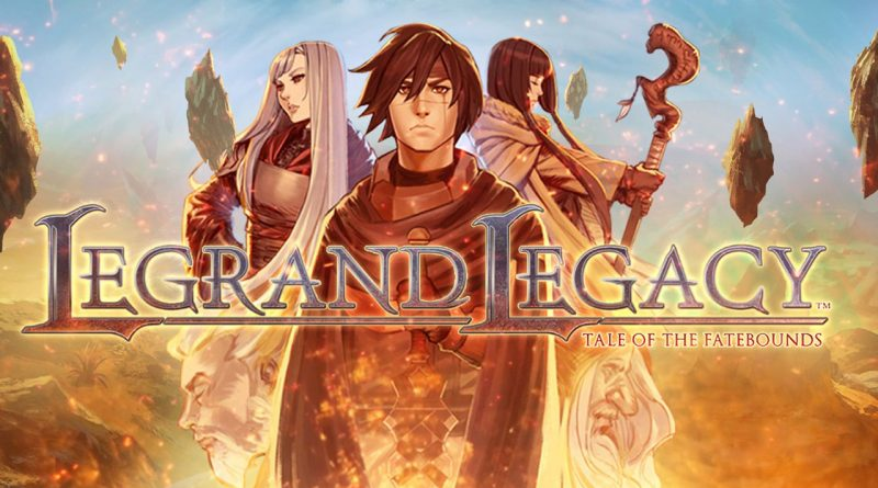 Legrand Legacy: Tale of the Fatebounds Nintendo Switch