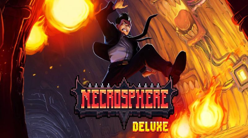 Necrosphere Deluxe PS Vita PS4 Switch