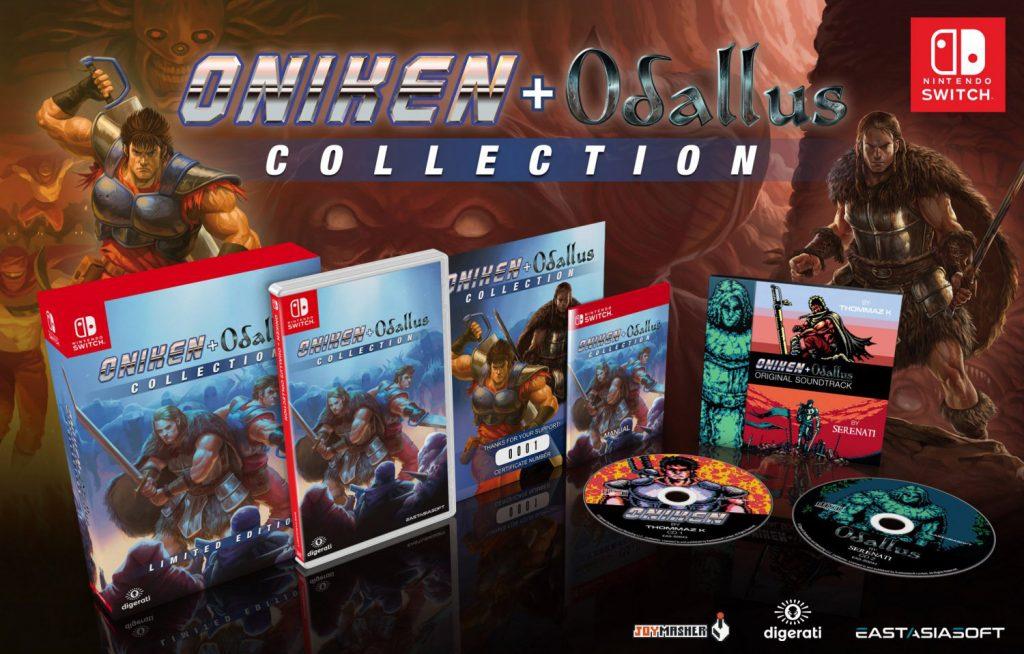 Oniken + Odallus Collection Nintendo Switch