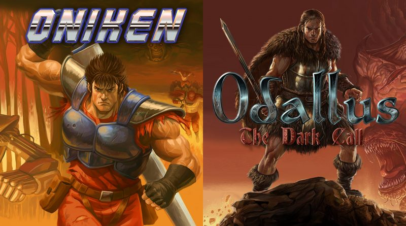 Oniken: Unstoppable Edition & Odallus: The Dark Call Nintendo Switch