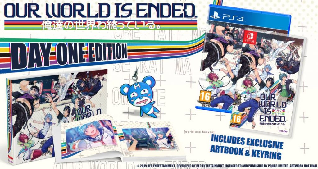 Our World is Ended Nintendo Switch PS4