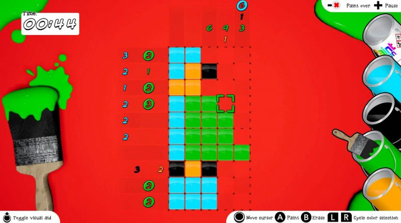 Piczle Colors Nintendo Switch