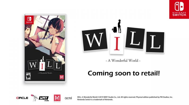 WILL: A Wonderful World Nintendo Switch PS4