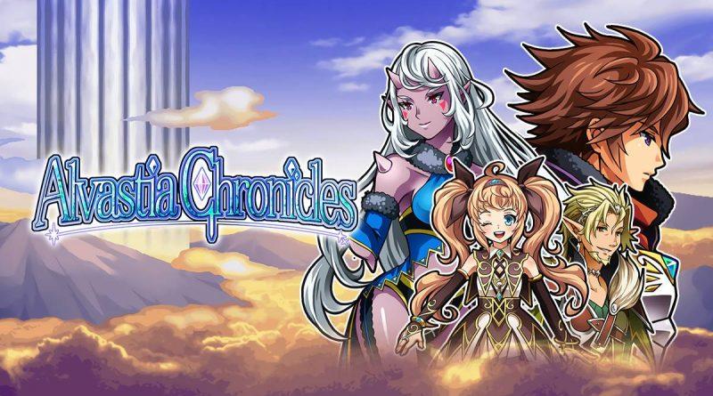 Alvastia Chronicles PS Vita PS4 Switch