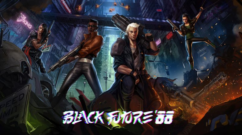 Black Future '88 Nintendo Switch