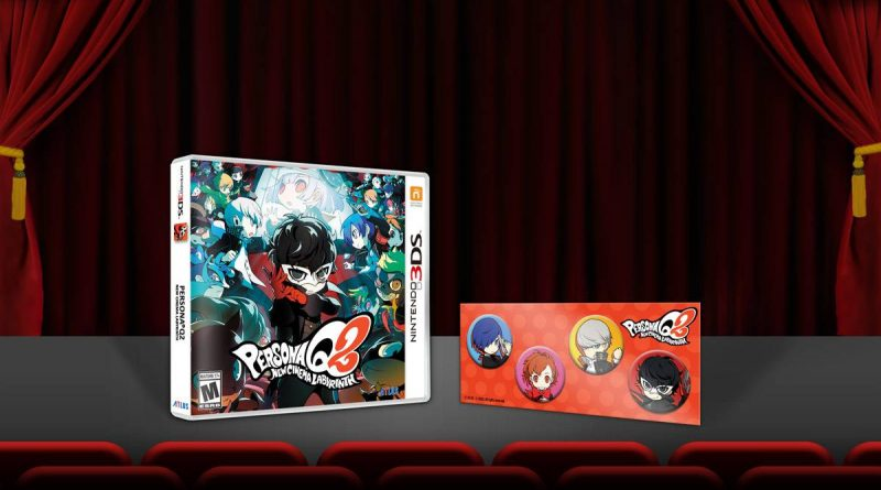 Persona Q2: New Cinema Labyrinth Nintendo 3DS