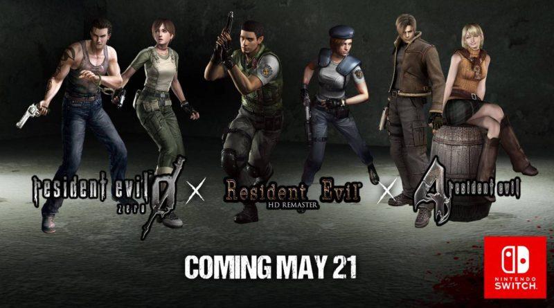Resident Evil 0 1 4 Nintendo Switch