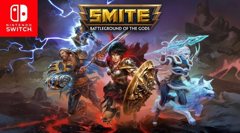 Smite: Battleground of the Gods Now Free-To-Play On Nintendo Switch