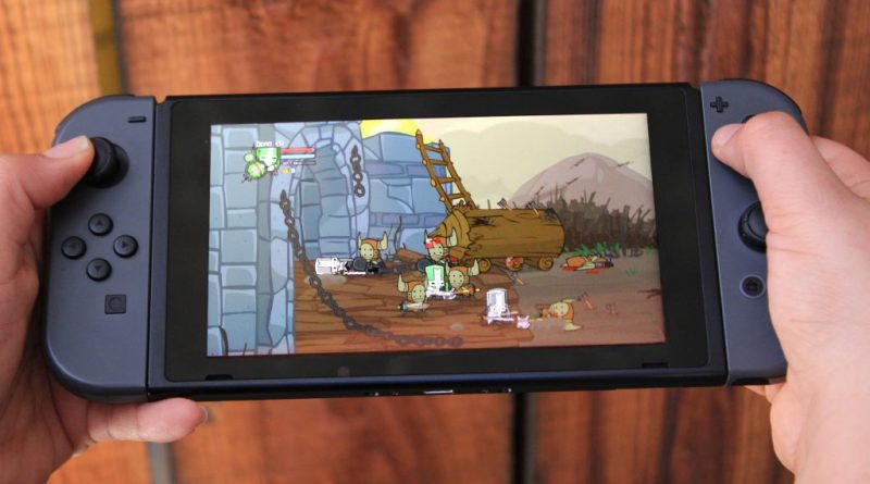Castle Crashers Remastered Nintendo Switch