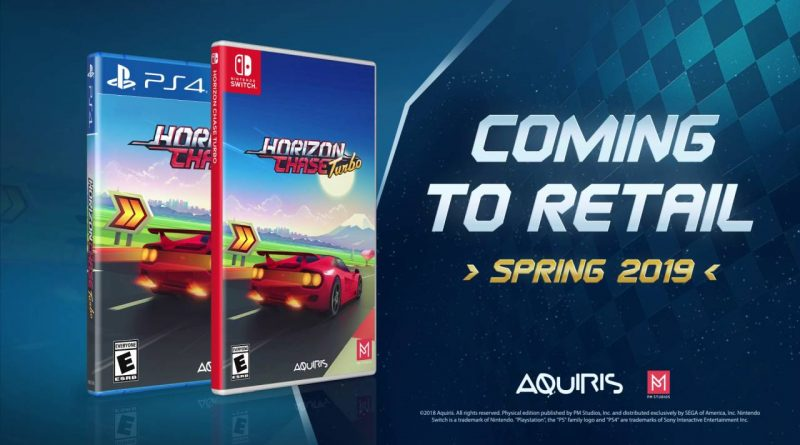 Horizon Chase Turbo Nintendo Switch PS4