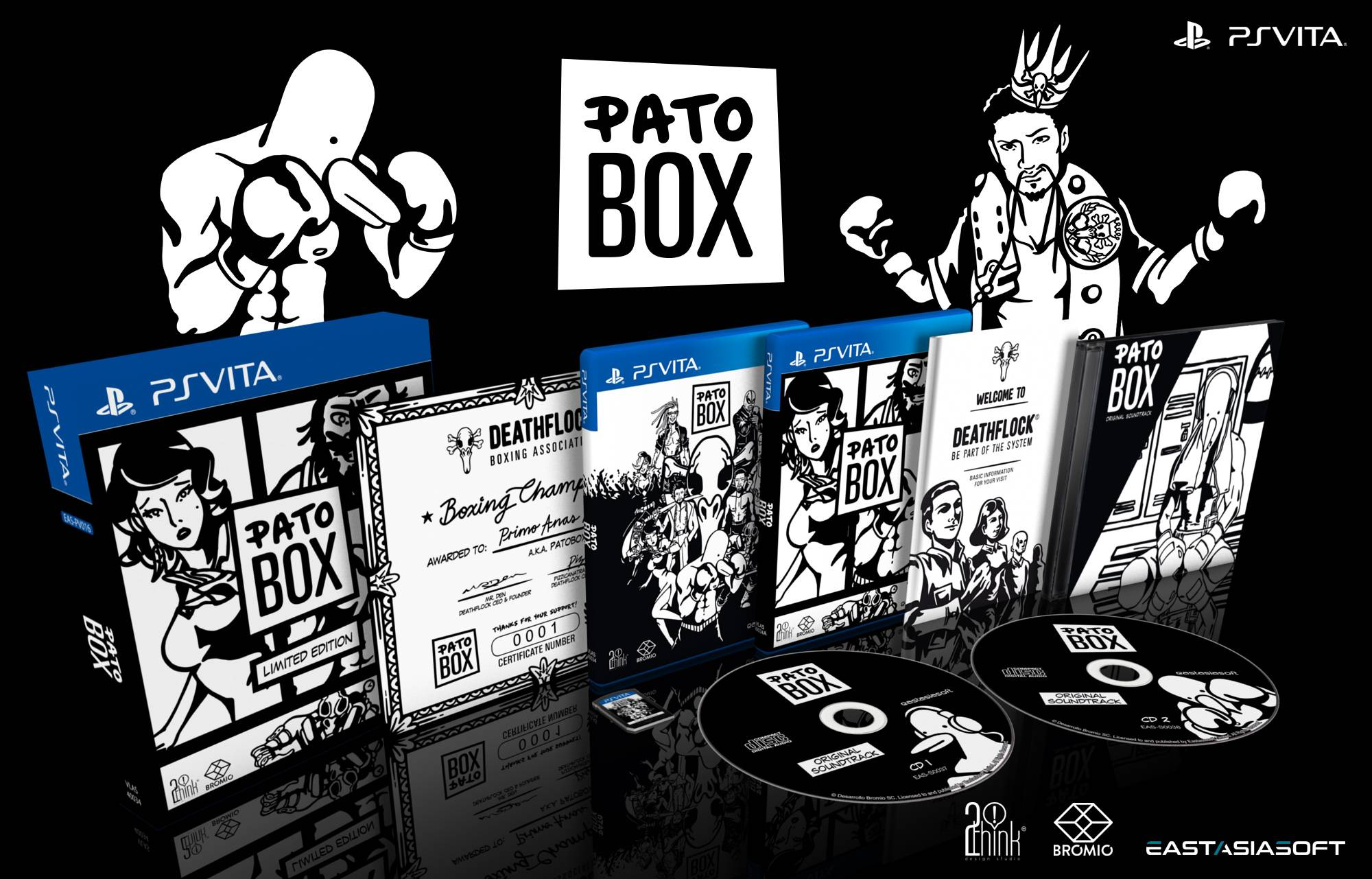 Pato Box PS Vita Limited Edition