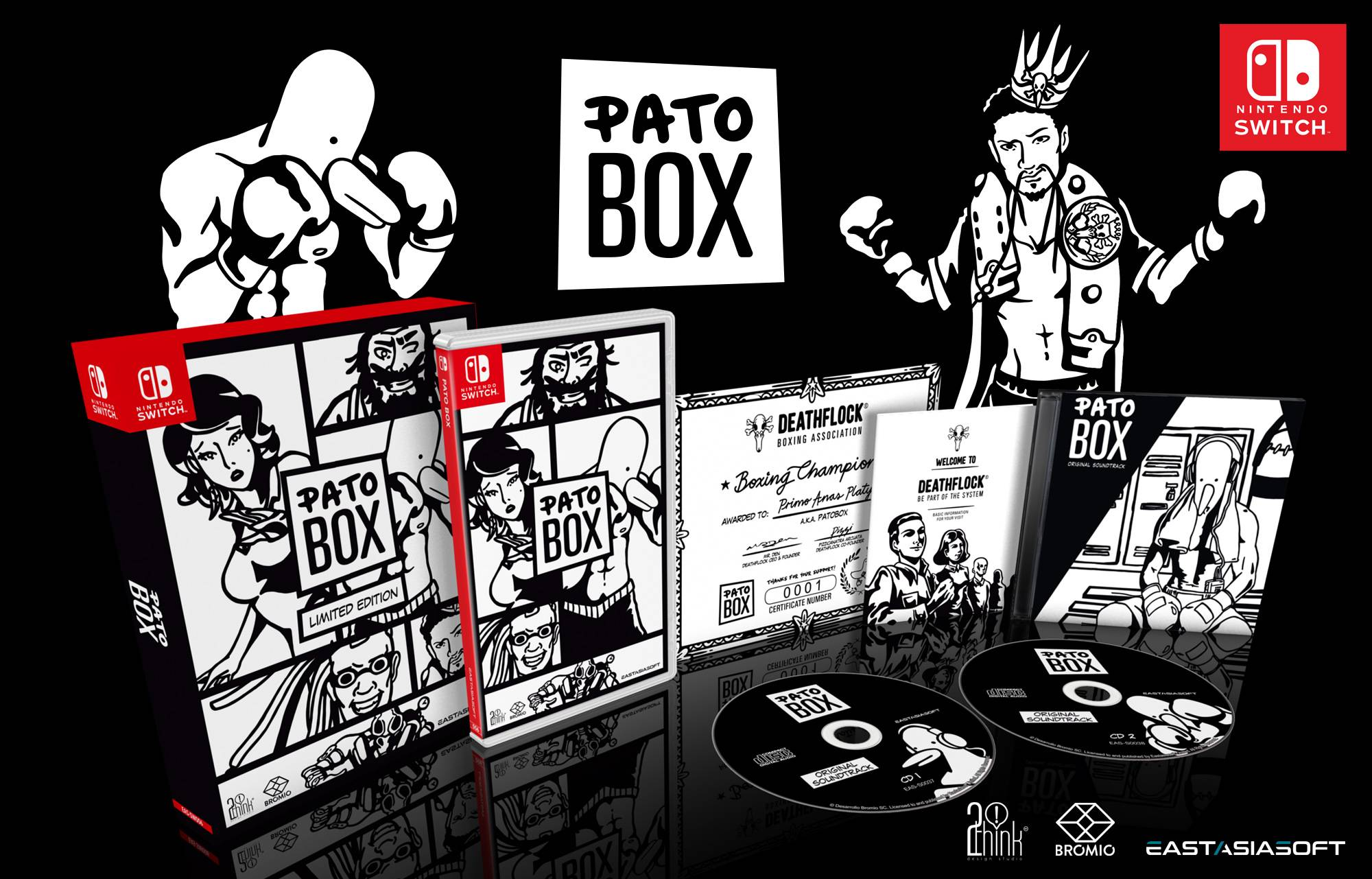 Pato Box Nintendo Switch Limited Edition