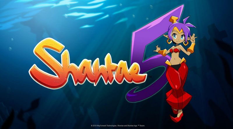 Shantae 5 Nintendo Switch