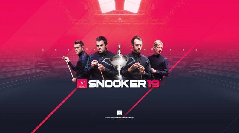 Snooker 19 Nintendo Switch