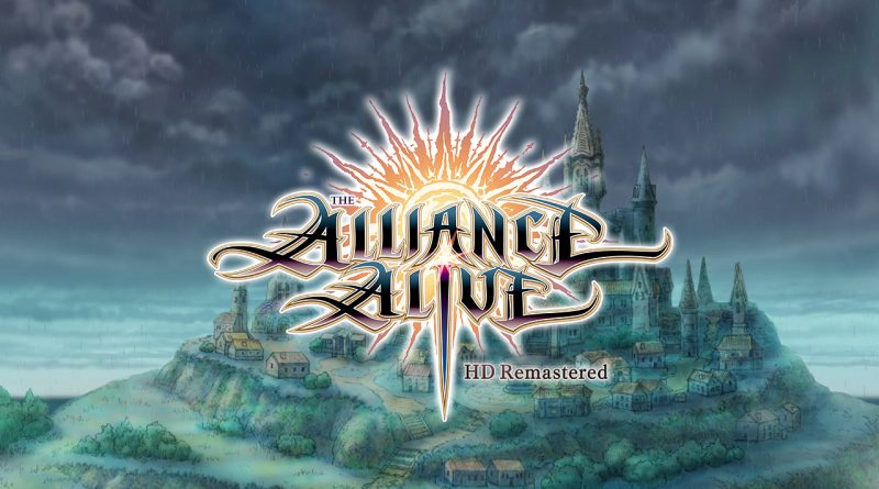 The Alliance Alive HD Remastered Switch PS4