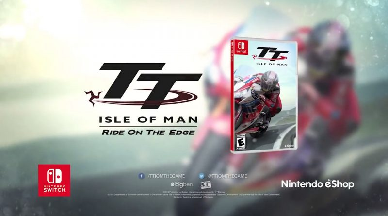 TT Isle of Man Nintendo Switch