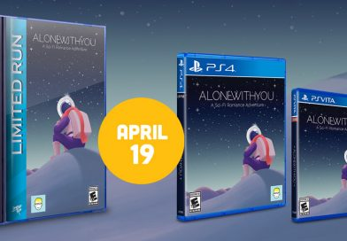 Alone With You Limited Physical Editions Announced For PS Vita & PS4