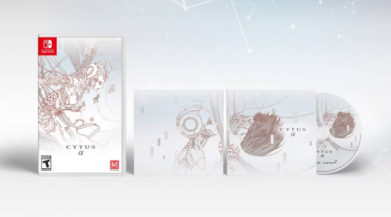 Cytus Alpha Nintendo Switch